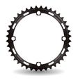 Chainwheel vector image vector image