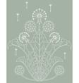 dandelion vector image vector image