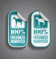 Food Sticker Lamb vector image vector image