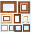 Handmade Frame set3 vector image vector image
