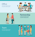 office worker business people vector image vector image