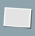 retro frame template design transparent picture vector image vector image