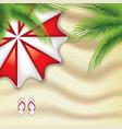 vacation at seaside vector image vector image