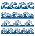 artistic waves vector image