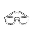glasses accessory fashion element frame image vector image vector image