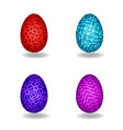 set of magic egg vector image vector image