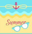 summer bright poster colorful vector image