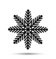 snow icon sign design vector image