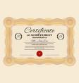 certificate achievements luxury award template