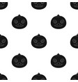duck muzzle icon in black style isolated on white vector image vector image