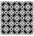 Flower pattern wallpaper vector image vector image