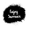 grunge enjoy summer vector image vector image