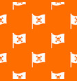 pirate flag pattern seamless vector image vector image