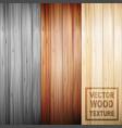 realistic brown wooden parquet floor texture set vector image vector image