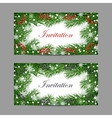 Set of horizontal banners vector image