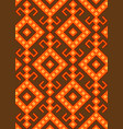 slavic pattern vector image vector image