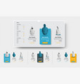 ui set product cards for online store and vector image vector image