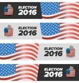 United States Election Vote banners vector image vector image