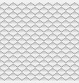 white paper rhombus seamless pattern vector image