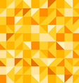 Yellow Seamless Pattern vector image
