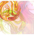 Abstract background with colored spheres vector image vector image