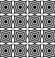 Black and white pointy squares vector image vector image