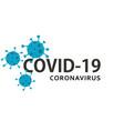coronavirus covid-19 background vector image vector image