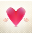 heart isolated vector image vector image