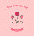 rose flowers on pink backdrop vector image