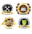 set of professional icon vector image vector image