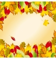 Autumn colorful leaves Fall background
