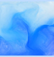 blue watercolor ink effect background vector image vector image