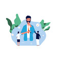 businessman choose worker employees recruitment vector image