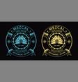 mezcal spirit label vector image vector image