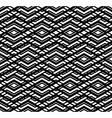 Modern zigzag contrast geometric seamless pattern vector image