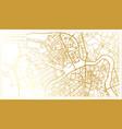 saint petersburg russia city map in retro style vector image vector image