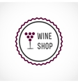Wine shop vector image