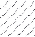 seamless texture with different hand drawn matches vector image