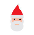 isolated santa claus avatar vector image