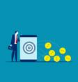 making online money concept business online vector image vector image