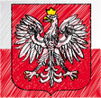 Polish crest vector | Price: 1 Credit (USD $1)