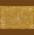 shining golden glitter background vector image vector image