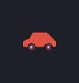 Toy Car computer symbol vector image vector image
