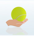 3d ball vector image vector image