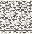 abstract geometric pattern with stripes vector image vector image