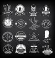 barber shop labels icons
