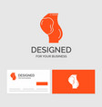 business logo template for pregnancy pregnant vector image
