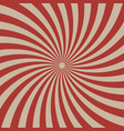 circus graphic radius effects red retro color and vector image