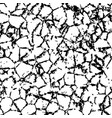 cracked texture of wall or earth vector image vector image