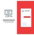 film heart love wedding grey logo design vector image vector image